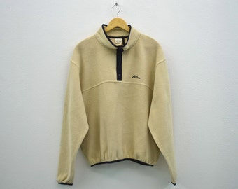LL Bean Sweatshirt Vintage LL Bean Pullover Ll Bean Vintage Activewear Made in USA Mens Size M/L