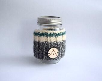 Wool cozy for mug | Green cozy | Mug warmer | Mug sock | wool sock for mug | Tea accessory | coffee accessory | Cozy sock | Mason jar sock