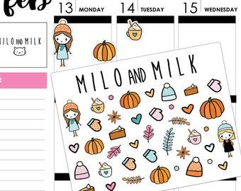 Autumn/Fall Sticker Set