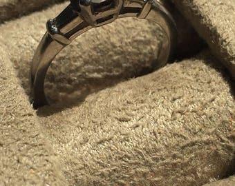 Sale 40% off Vintage Diamond Engagement Ring Platinum .5 carat - 1/2 carat