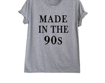 Birthday shirts women outfit birthday gift ideas made in the 90s t shirt born in the 90s shirt men 40th birthday shirt size XS S M L