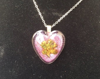 Blazing Love Pendant-Valentines Gift-Valentines Necklace-Weed Pendant-Valentines Day-Weed Heart-I Love Weed-Gifts for Her-Stoner Gift