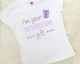 Fathers Day Daughter T-Shirt, Fathers Day Gift, Dad Gift, Girls Clothing, UK