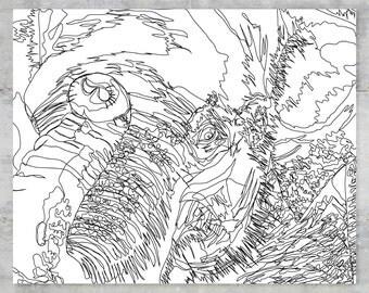 "Elephas Maximus Sumatranus   Sumatran Series   8""x10"" Print"