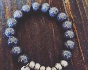 Grey Jade bracelet