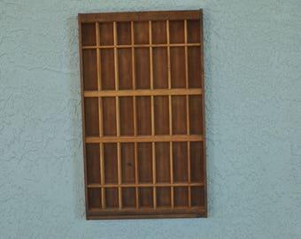 Wood Display Box