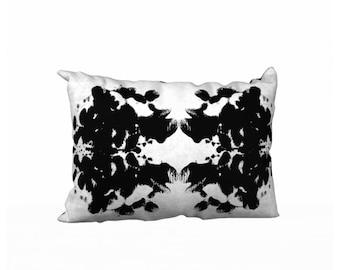 Medusa Ink Blot Pillow Cover 20x14