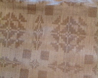 Vintage linen fabric/tablecloth/material