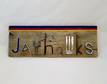 Kansas Jayhawks Sign