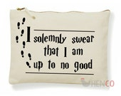 Harry Potter MakeUp Bag Harry Potter Accessory Bag Harry Potter Bag Harry Potter Pencil Case I Solemnly Swear I Am Up To No Good Christmas