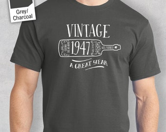 70th Birthday, 70th Birthday Idea, Great 70th Birthday Present, 70th Birthday Gift. 1947 Birthday, 70th Birthday Shirt For a 70 Year Old!