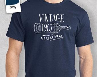 50th Birthday, 1967 Birthday, 50th Birthday Idea, Great 50th Birthday Present, 50th Birthday Gift. 50th Birthday Shirt For an 50 Year Old!