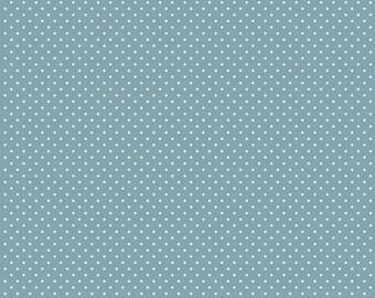 1 Yard Les Petits  by Amy Sinibaldi for Art Gallery Fabrics - Petits Stipples- 613 Sky