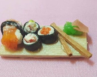 Miniature Sushi dollhouse