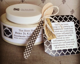 Make It All Better Handmade Eczema Cream! No Chemicals, No Preservatives, No Fillers & Vegan!