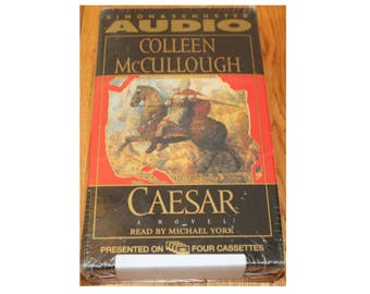 Caesar - Audio Book on Cassette - book on tape by Colleen McCullough 1997 a novel read by Michael York Simon 7 Schuster