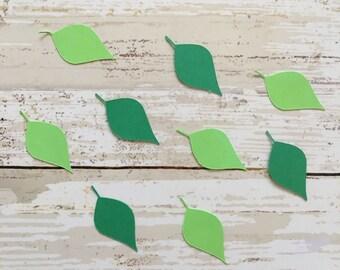 Plain Leaf Confetti