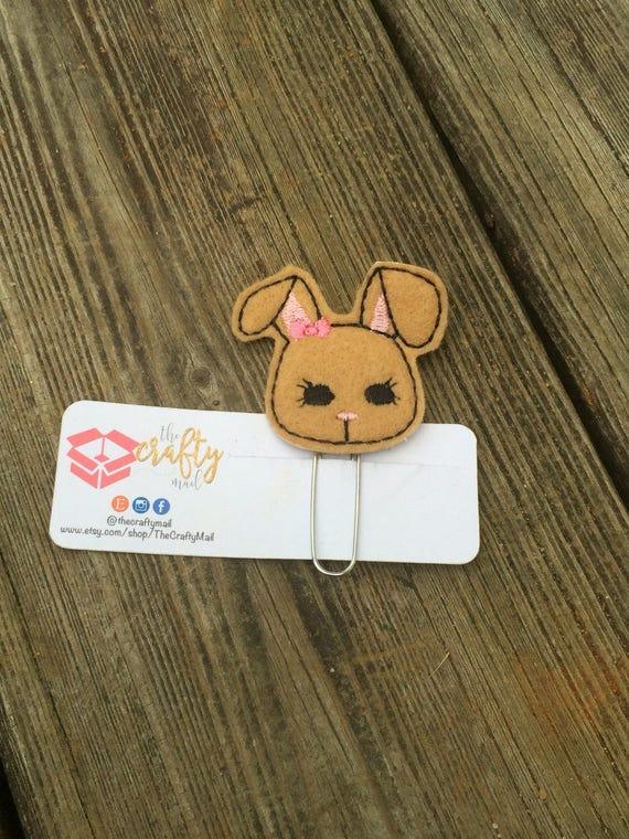 Easter bunny Planner Clip/Planner Clip/Bookmark. Easter planner clip