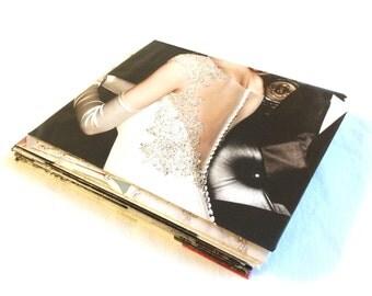 15 Magazine Envelopes + Notecards FREE Shipping Invitation Size Upcycled Handmade Fashion Bridal Wedding Shower Bachelorette 4.25 x 5.25