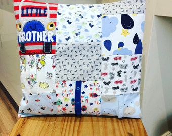 "Memory/Keepake 16"" Cushion Cover Recycle Clothing"