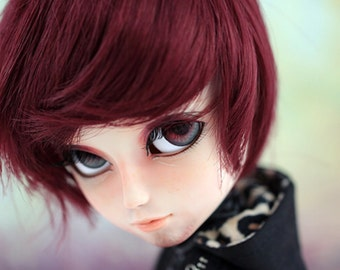 OOAK Taeyang red hair made by Venassa Cordero
