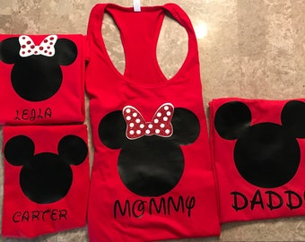 Disney Shirt, Disney family Shirt