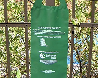 5 Flowering Hanging Bags, 10 slit Al's Bag, Hanging Container for Porch,Fence,Mailbox and more