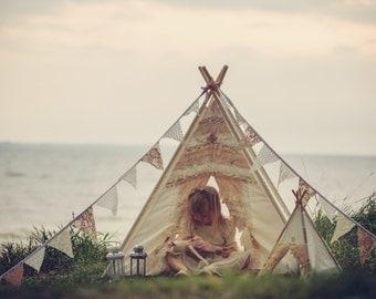 Dreamy teepee for kids