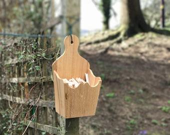 Oak Utensil Box