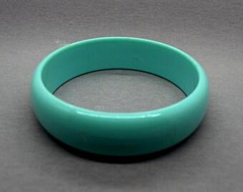 Teal Bracelet Bangle Bracelet Chunky Bracelet Fashion Jewelry