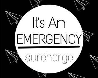 Emergency Reading Surcharge// Tarot Readings, Psychic Reading, Clairvoyant
