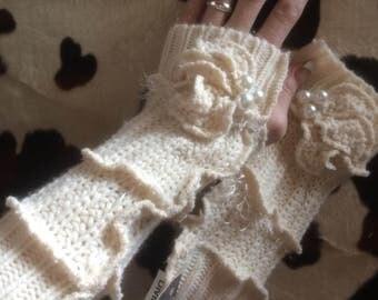 fingerless gloves/arm warmers