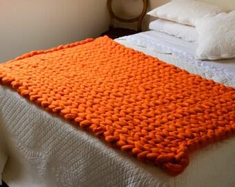 Supa Knit Jumbo Merino Wool Blanket Extreme Knitting