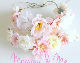 Mommy & Me Flower Crown Set