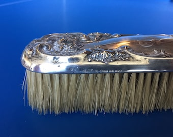 Victorian Sterling Silver Clothes Brush