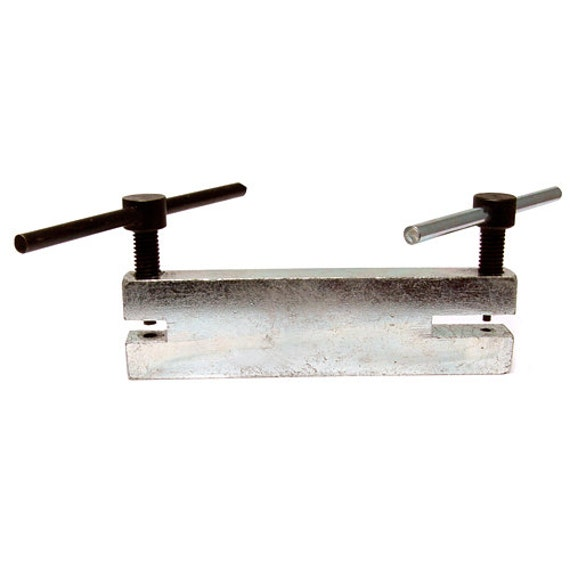 Basket Making Tools Supplies : Screw down hole punch for metal stamping and diy jewelry