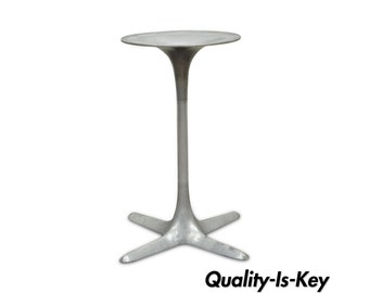 Vintage Burke Mid Century Modern Aluminium Tulip Propeller Dining Table Base B