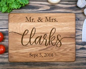 Custom Cutting Board, Wedding Gift, Cutting Board, Personalized, Wood Cutting Board, Anniversary Gift, Personalized Gift, Chopping Board