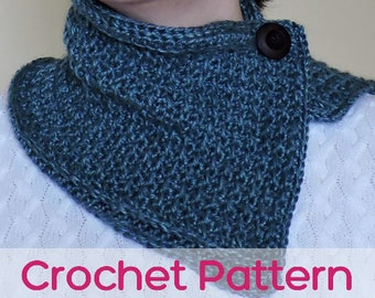 Overlapping Cowl - Crochet Pattern