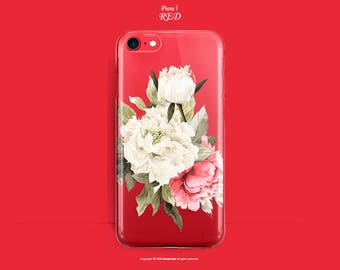 iPhone 7 Plus Case RED iPhone 7 Case Clear iPhone 6s Case Floral iPhone 7 Plus Case Floral Clear iPhone 7 Case