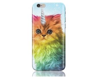 Htc Desire 626 Case - Htc D626 Case - Htc Desire 626s Case #Cat Unicorn Cool Design Hard Phone Case