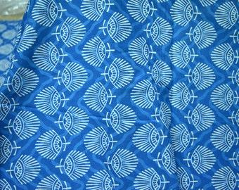 Screen Printed Cotton Fabric - Boho Soft Cotton fabric by the yard Indian Fabrics Summer Dress fabric Quilt cotton bohemian fabric