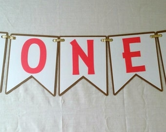 Tribal High Chair Banner - wild one - party supplies - boho