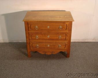 Ethan Allen Country French Pine Side Chest or Night Stand
