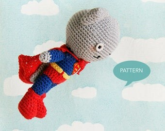 Crochet pattern Supercat, English and Dutch