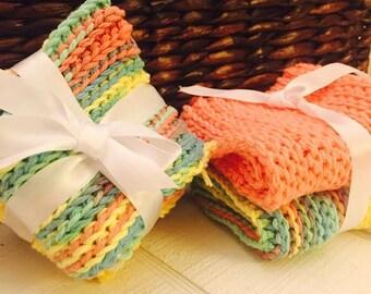 Crocheted Kitchen Washcloths