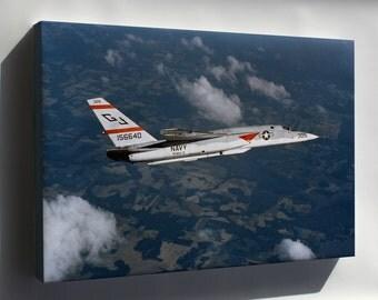 Canvas 24x36; (Rvah-3) North American Ra-5C Vigilante 1976