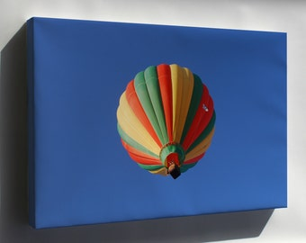 Canvas 16x24; Hot Air Balloon In Flight At The Mid-Hudson Valley Balloon Festival