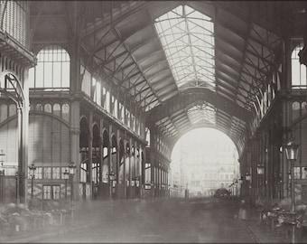 16x24 Poster; Les Halles, Central Market, Paris, France. 1870