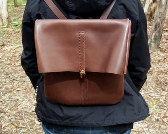 Leather backpack, handbag backpack, leather handbag, handbag craftsman, brown backpack, backpack, backpack leather, backpack leather